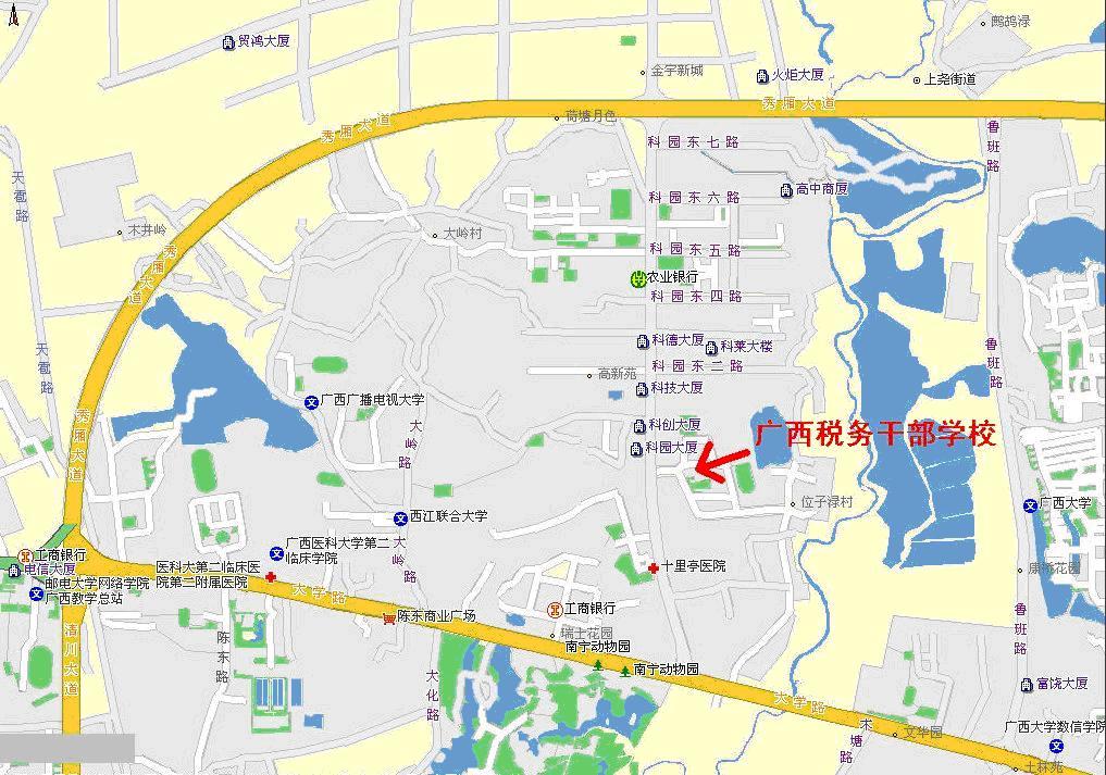 贵港到柳州地图