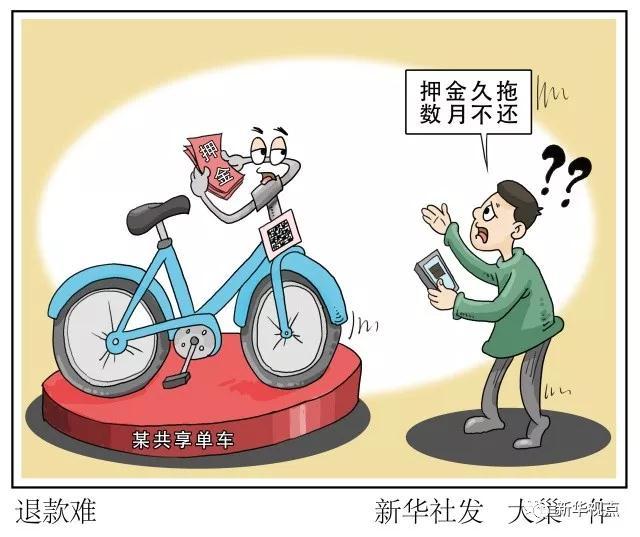 2018年公务员热点时评:共享单车企业接二连三倒闭,你的押金退了吗?